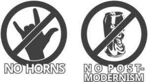 No Horns, No Postmodernism